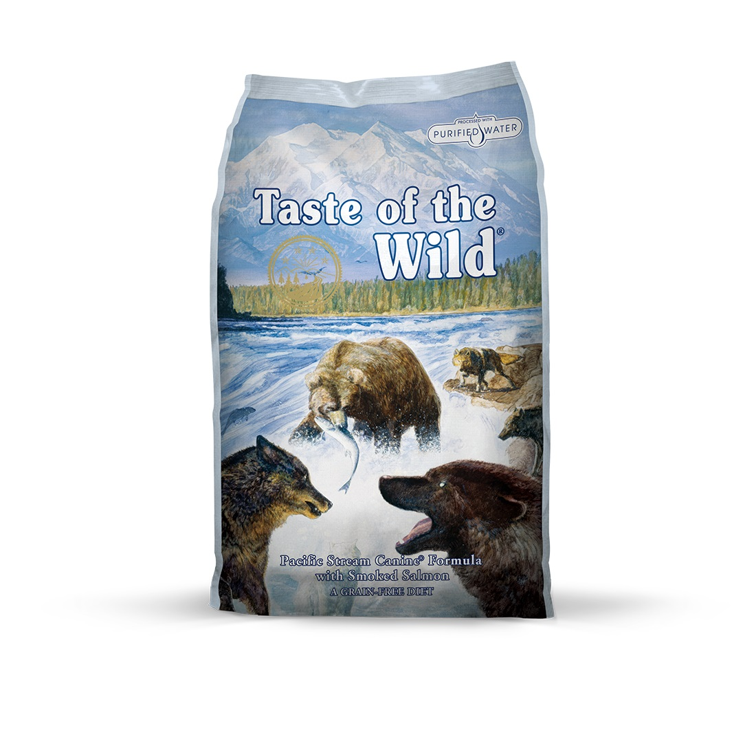Taste of the Wild Pacific Stream Canine Formula with Smoked Salmon - 2 kg