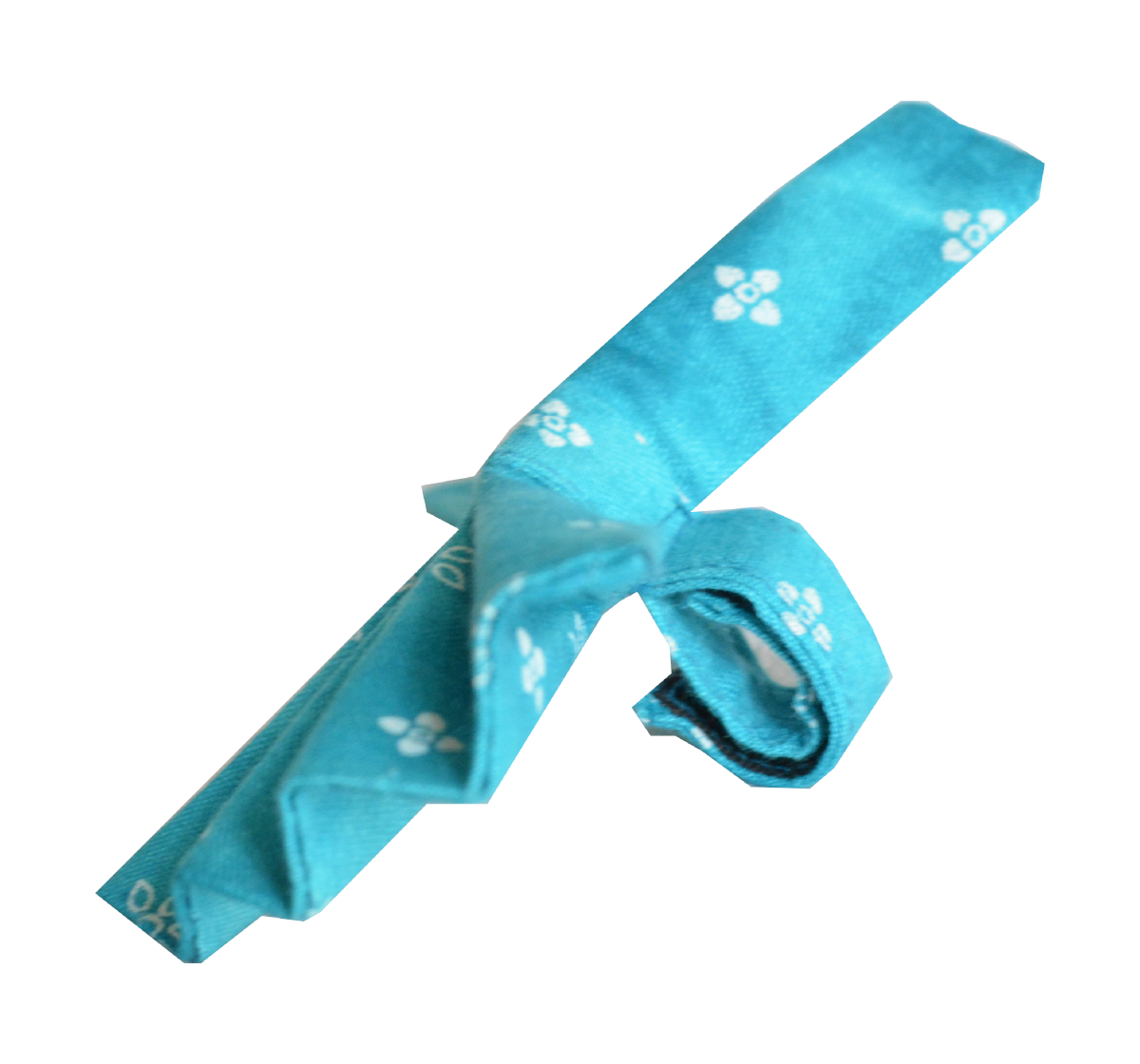 Paws A Little Teal Bow Tie Adjustable Bow Tie