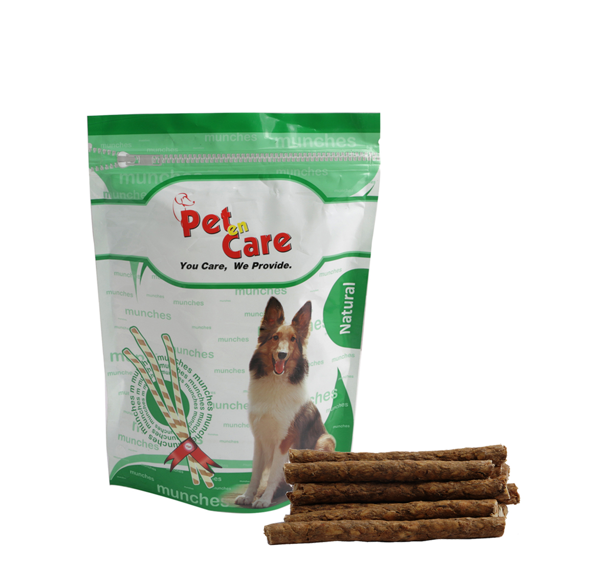 Pet en Care Munchy Sticks Natural - 25 Pcs