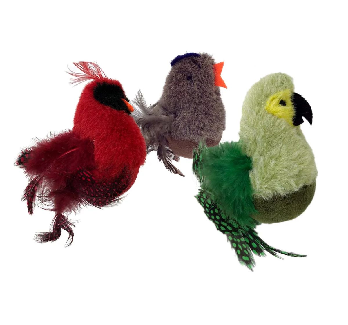 Petsport Feathered Kitty Wobbler Assorted - 12 cm