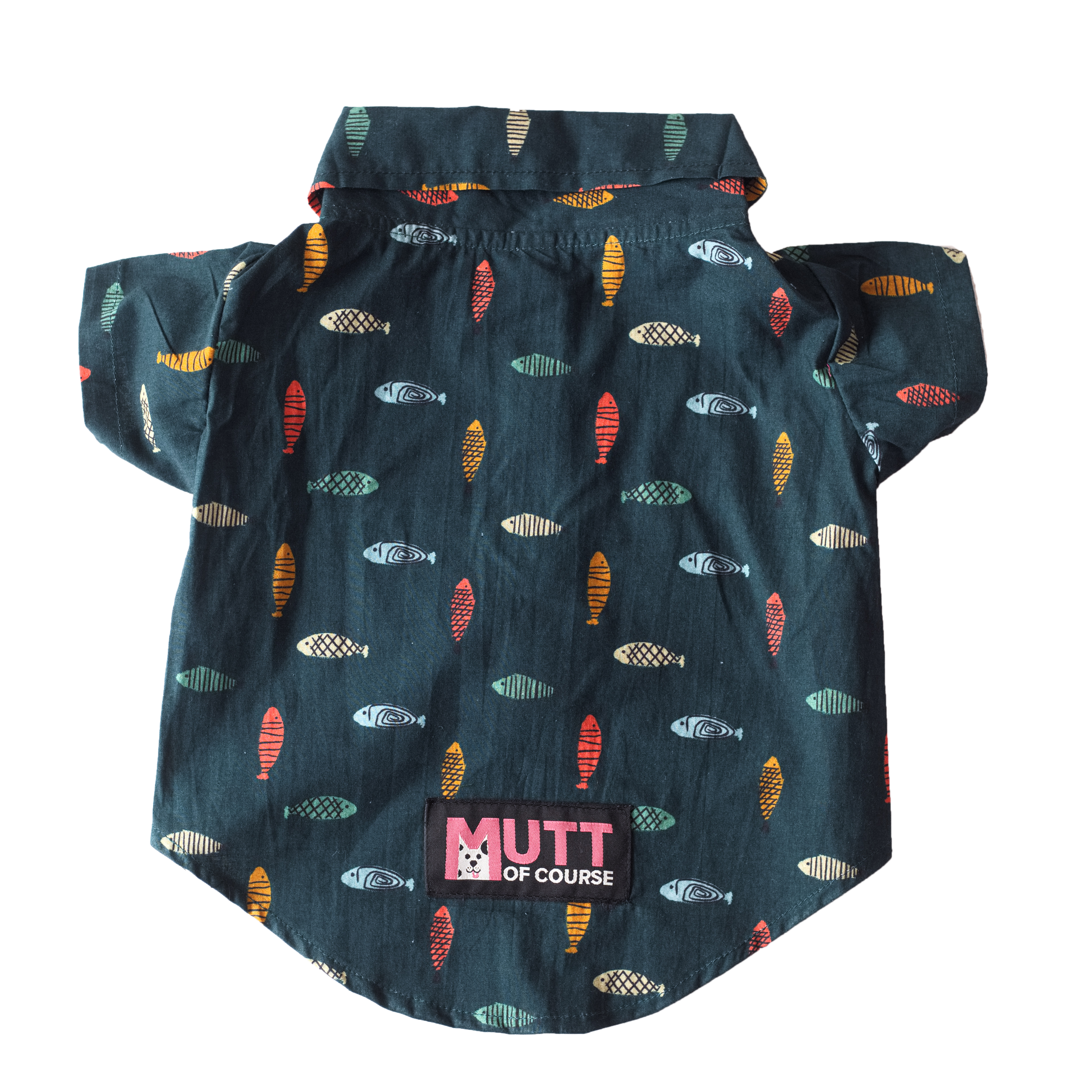 Mutt of Course Fishes in the Sea Shirt for Dogs- XL