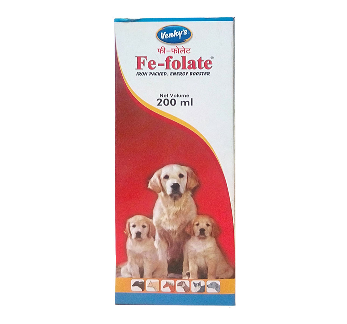 Venkys Fe - Folate Supplement - 200 ml