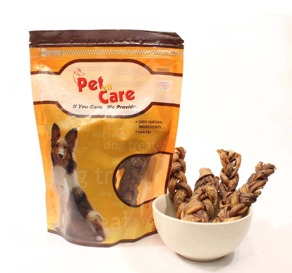 Pet en Care Braided Pizzle - 150 gm