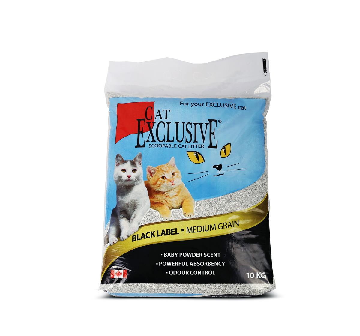 Cat Litter Exclusive -10 Kg