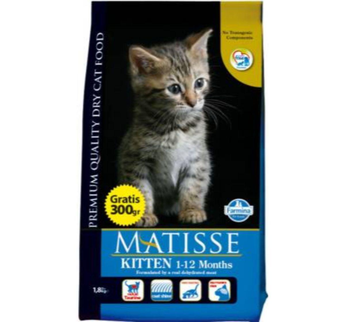 Matisse Kitten Food - 1.8 Kg (Pack Of 8)