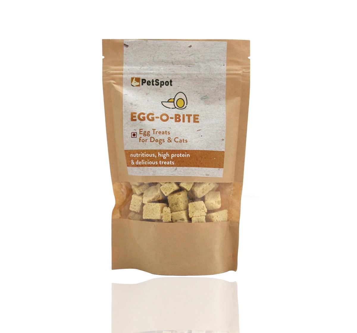 PetSpot Egg-O-Bite Egg Treat - 40 gm (Pack of 5)