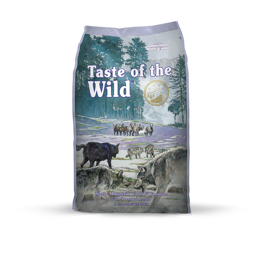 Taste of the Wild  Sierra Mountain Canine Recipe with Roasted Lamb - 6 Kg