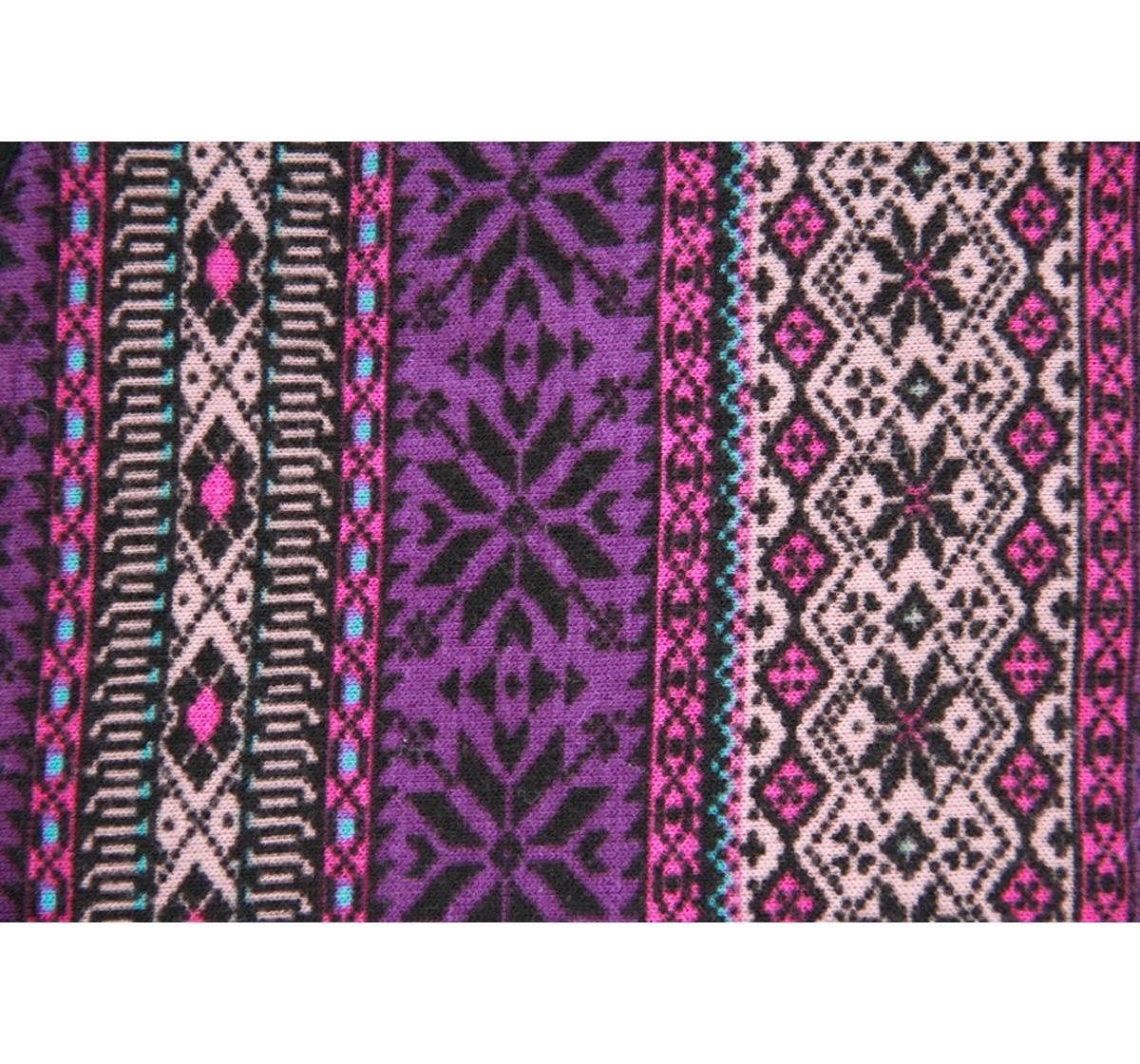 DogSpot Aztec Blast Flannel Dog Coat Size - 18