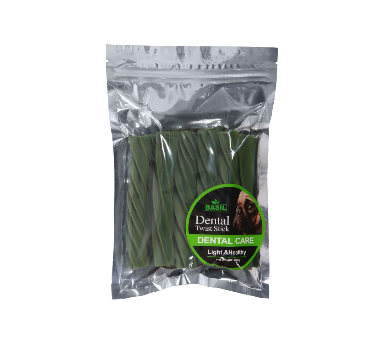 Basil Dental Care Dog Treat - 200 g