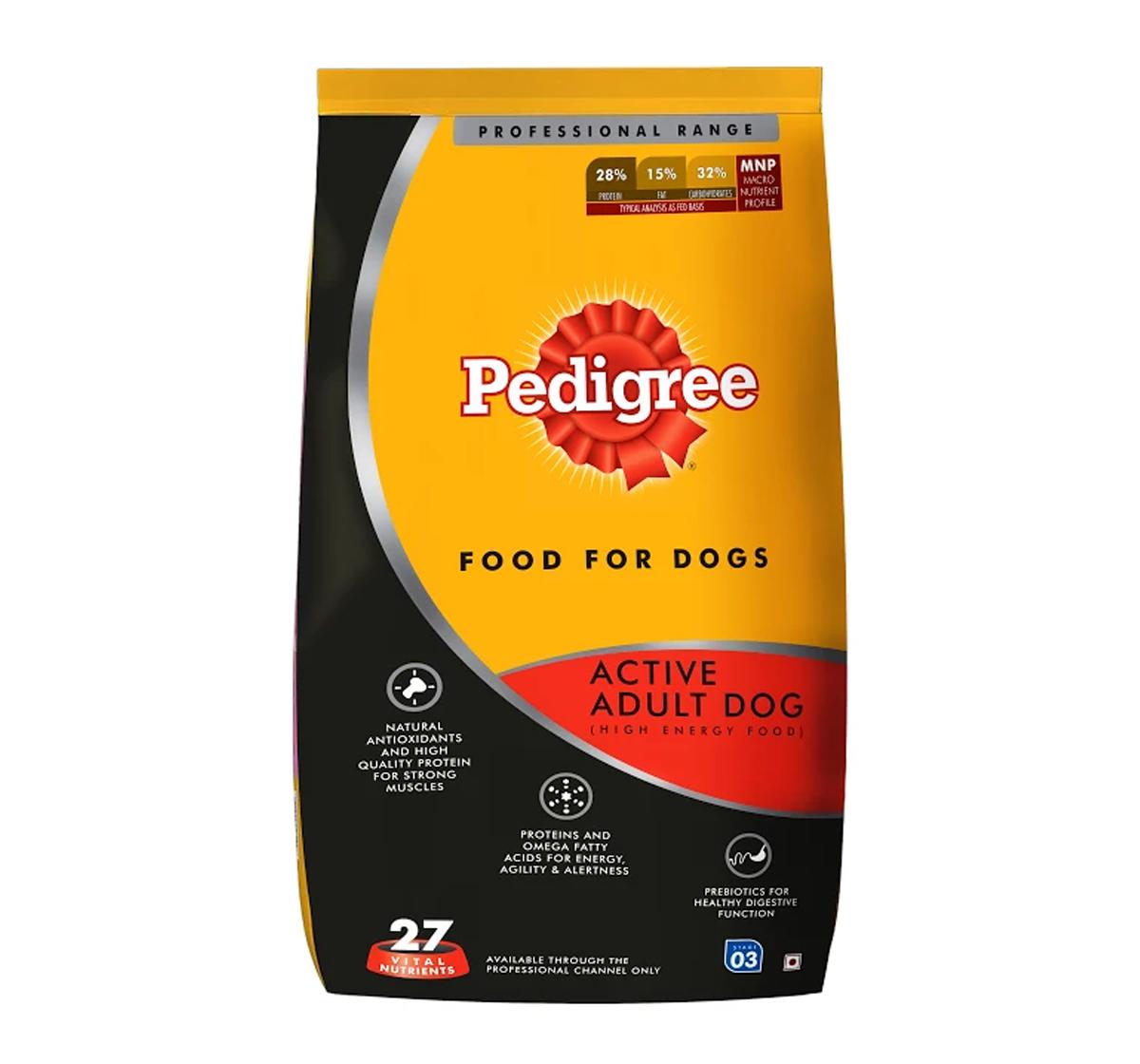 Pedigree dog food online shopping