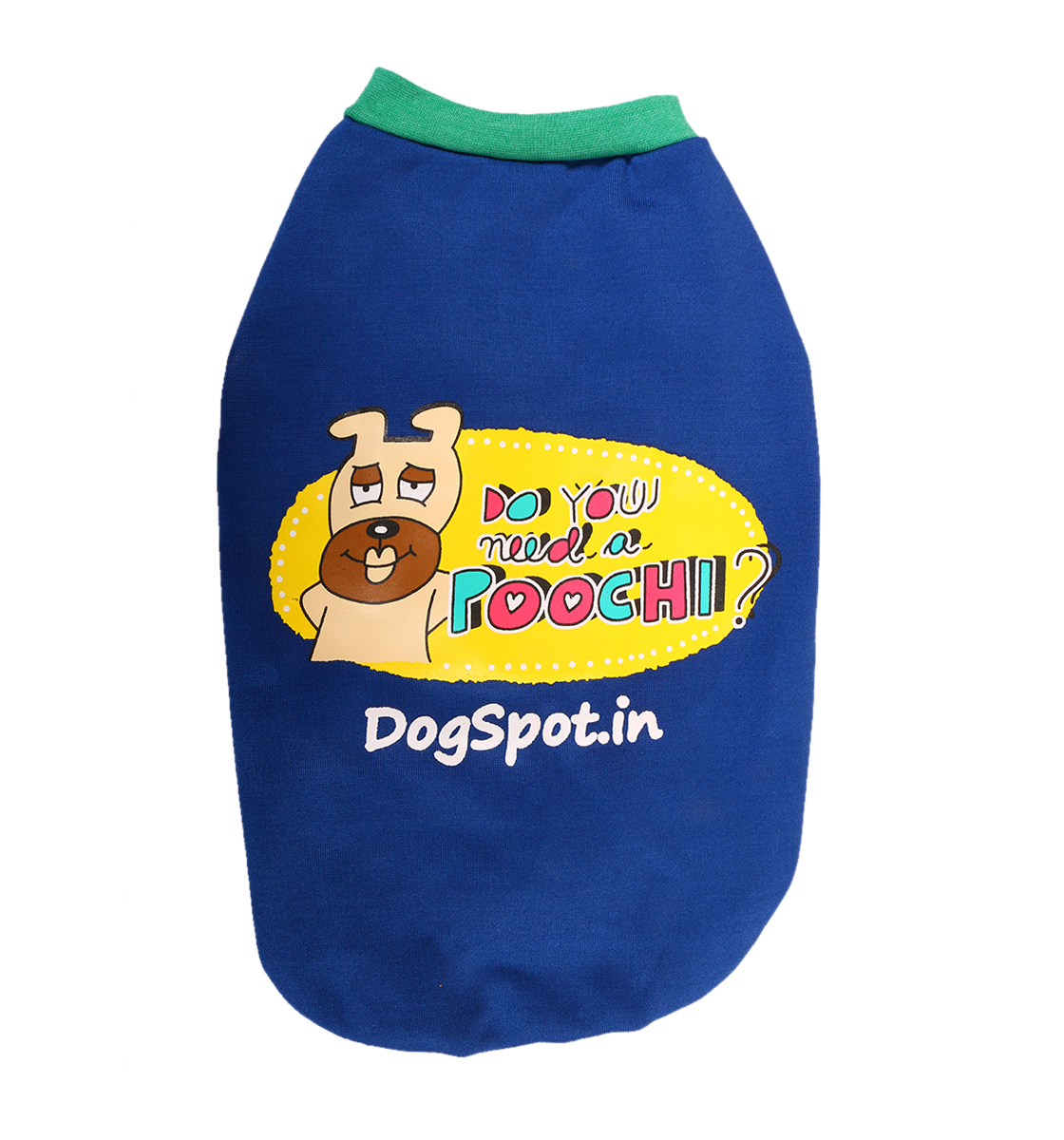 DogSpot Need A poochi Winter T-Shirt Size - 12