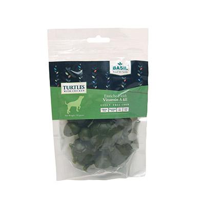 Basil Guilt Free Turtles Dog Treat- 94 g