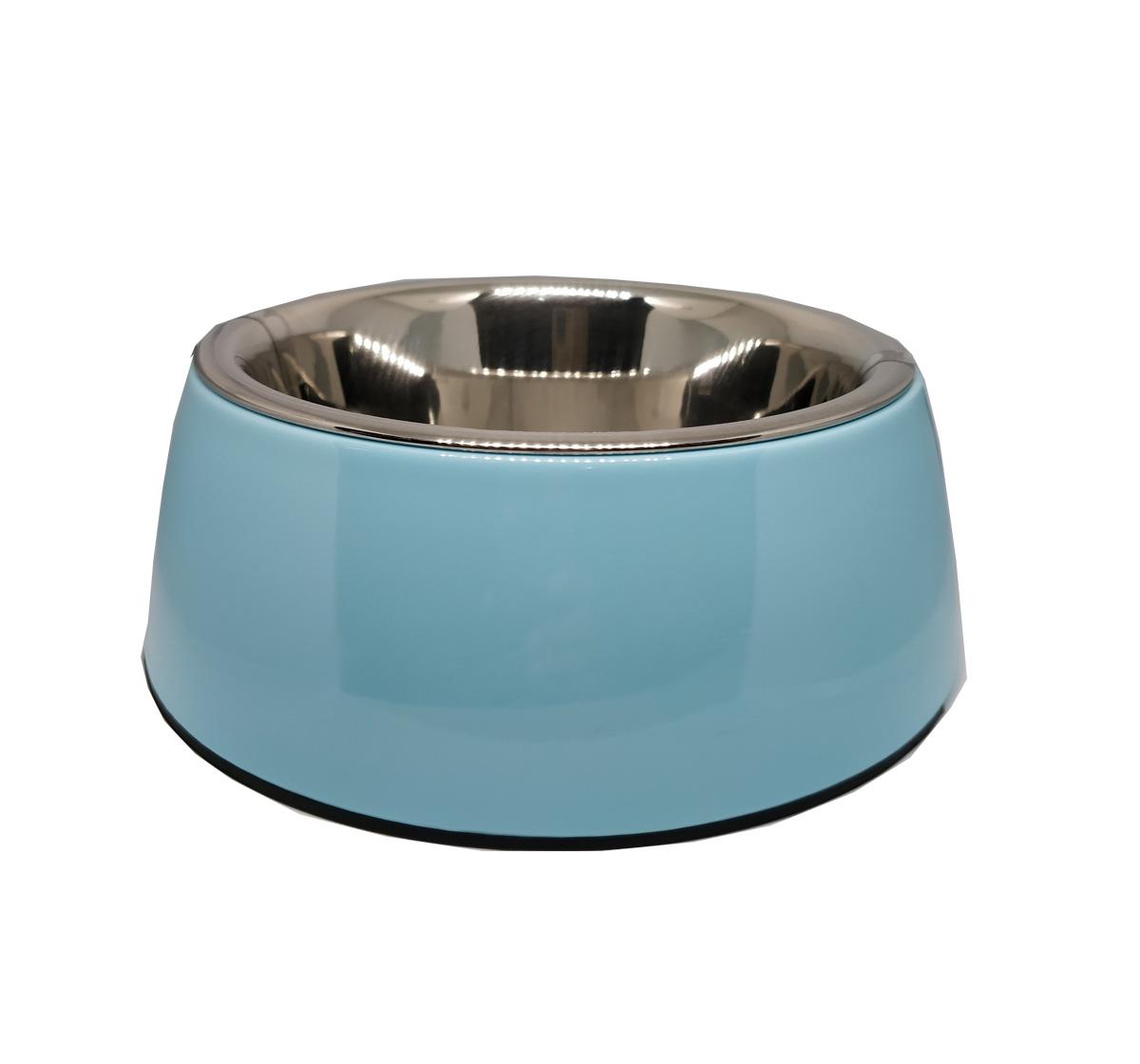 Basil Malamine Bowl Blue - Medium