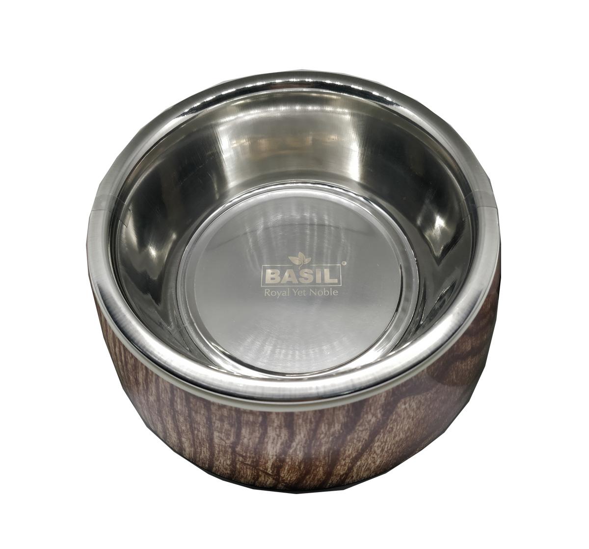 Basil Malamine Bowl Wooden Print - Small