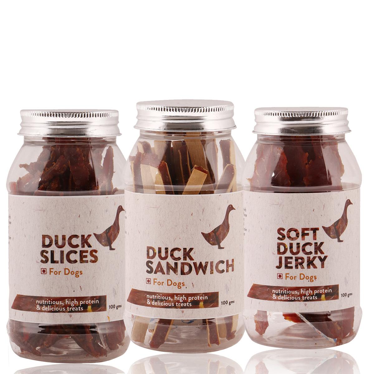 PetSpot Duck Treat Pack