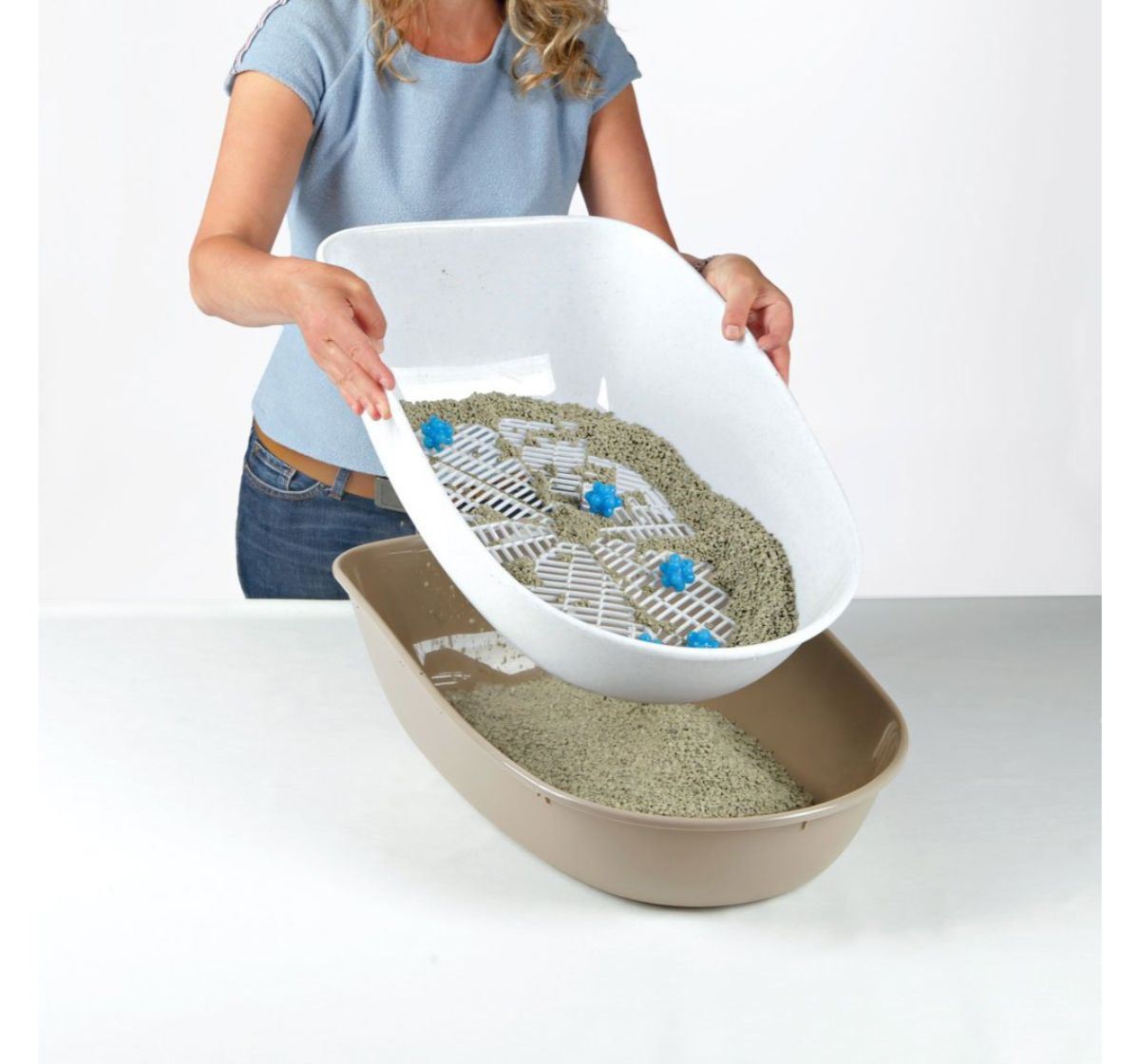 Trixie Berto Cover Top Litter Tray With Separating System