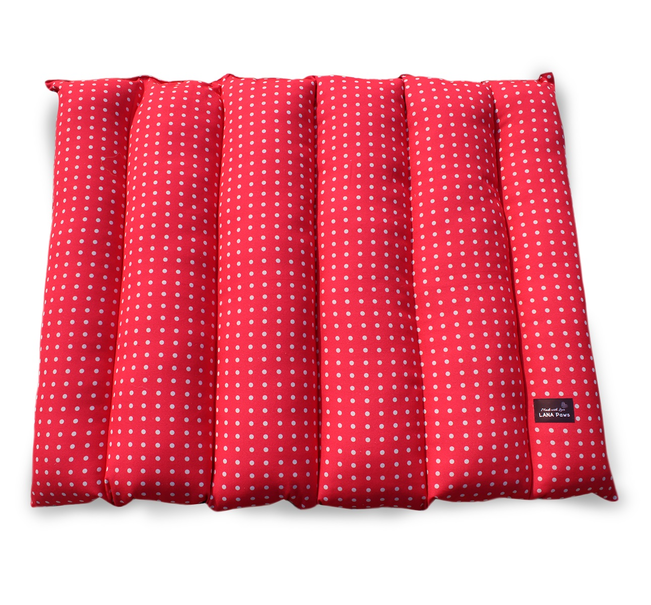 LANA Paws The Pink Polka Dog Mat - 30 X 36 X 4 inches