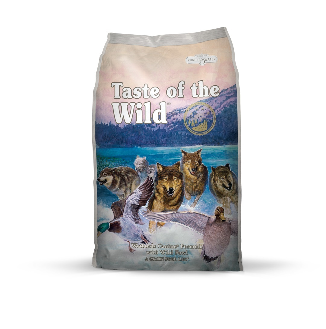 Taste of the Wild Wetlands Canine Recipe with Roasted Fowl - 13 kg
