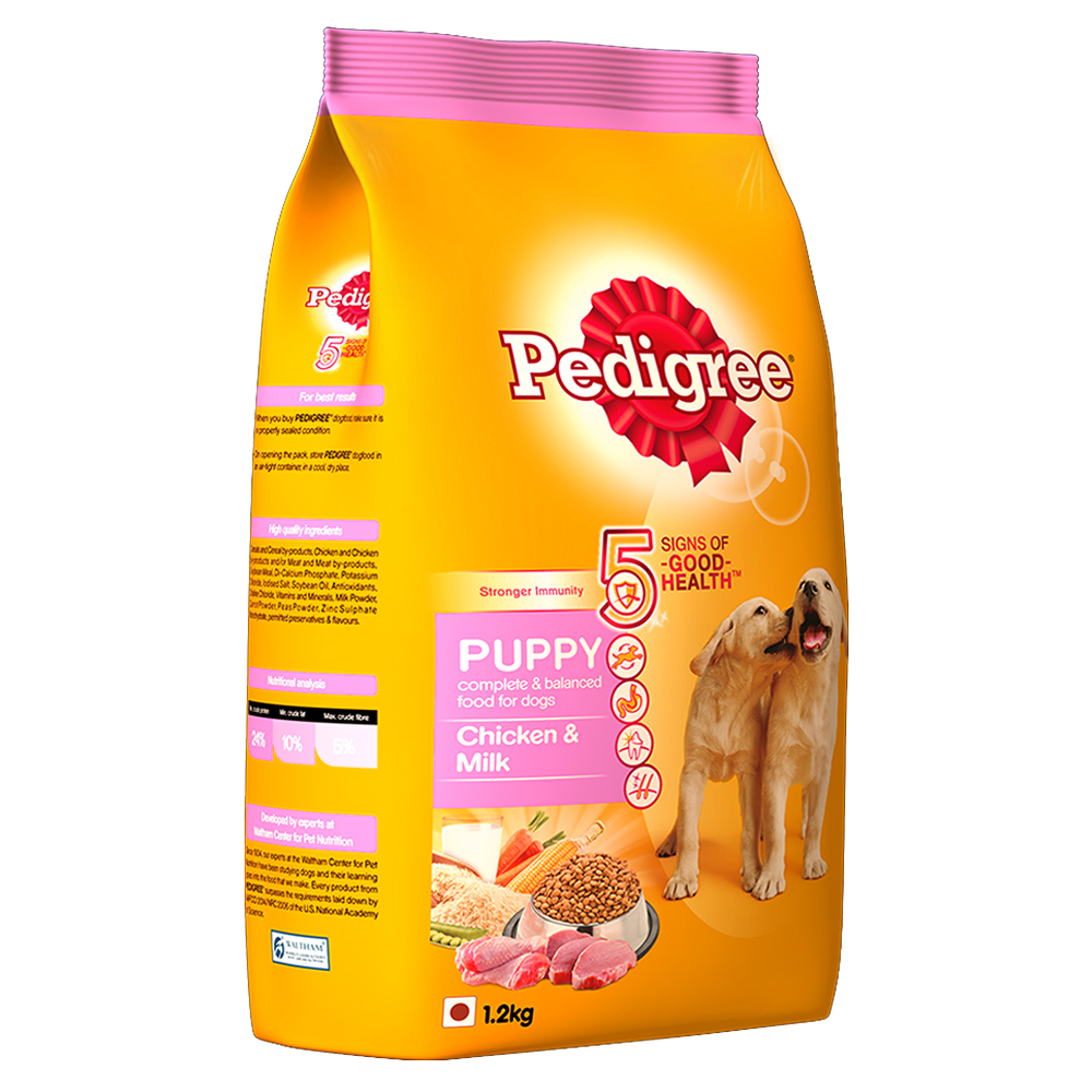 Pedigree Dog Food Puppy Chicken Milk 1 2 Kg Dogspot Online