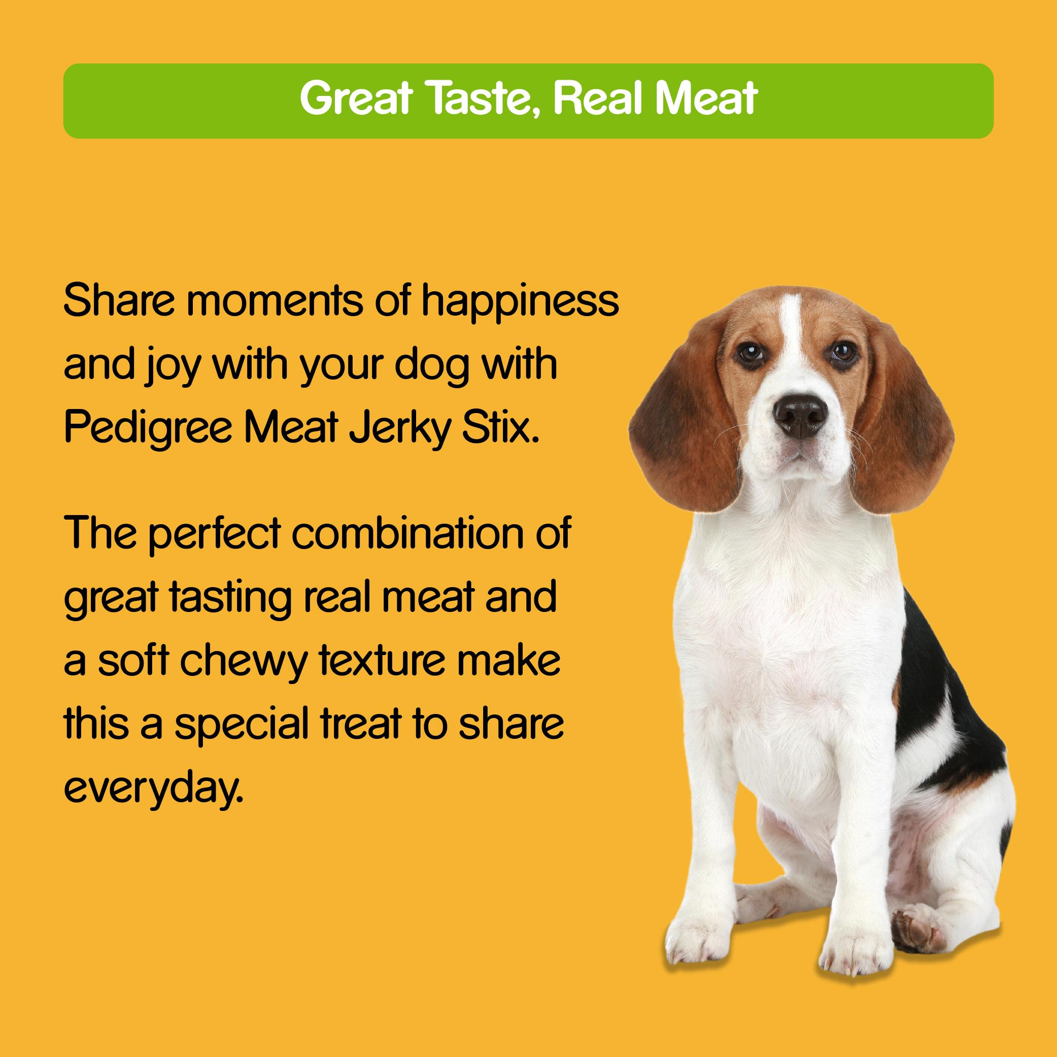 Pedigree Meat Jerky Stix Bacon Flavor - 60 gm (Pack of 12)