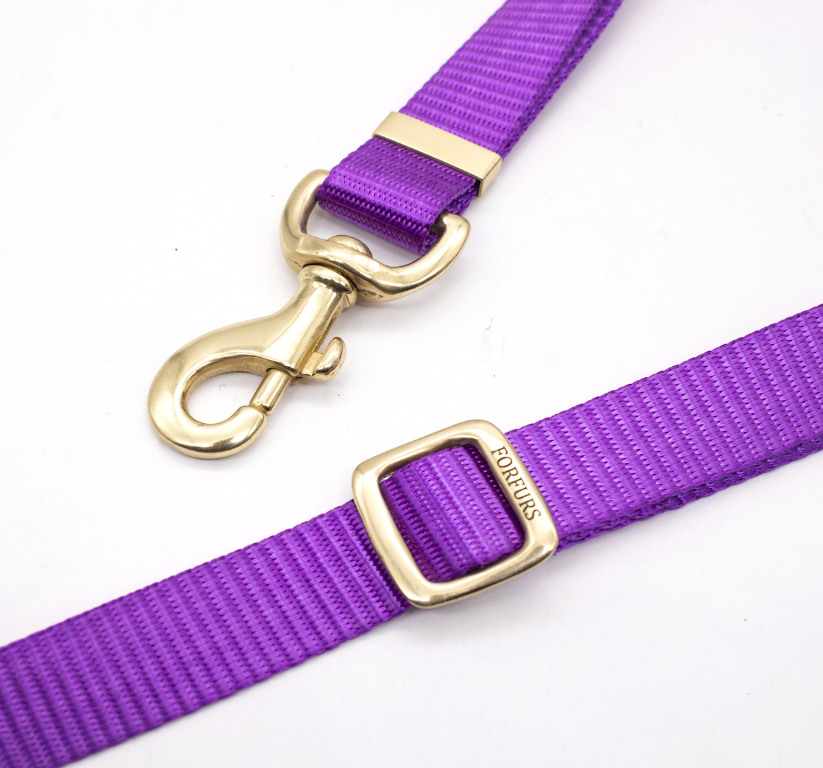 Forfurs Adjustable Protean All Breed Leash  - Ultra Violet