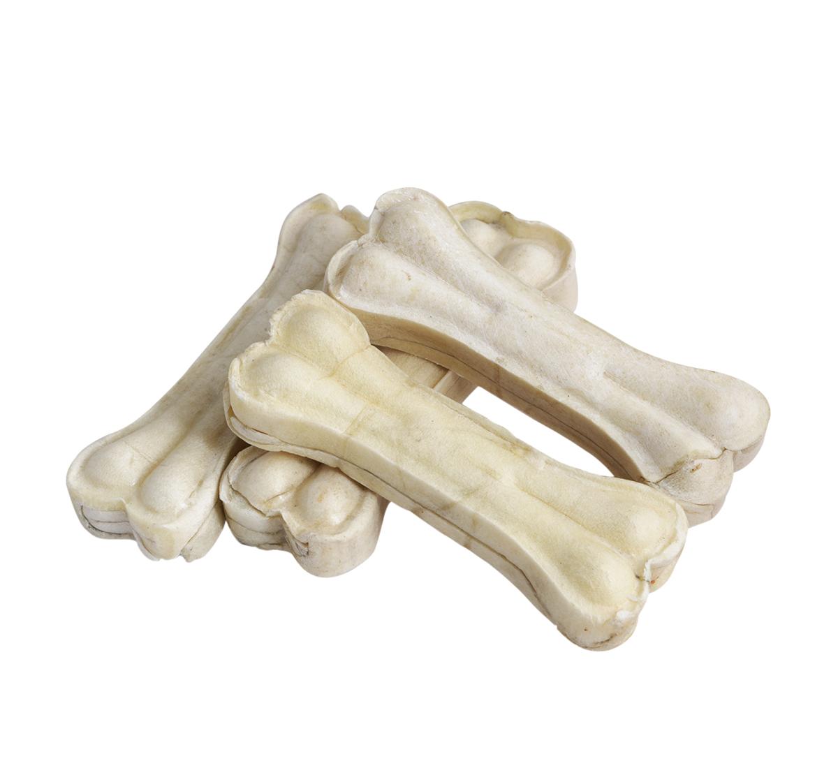 Pet en Care Rawhide Pressed Bone - 10.16 Cm - 4 Pcs