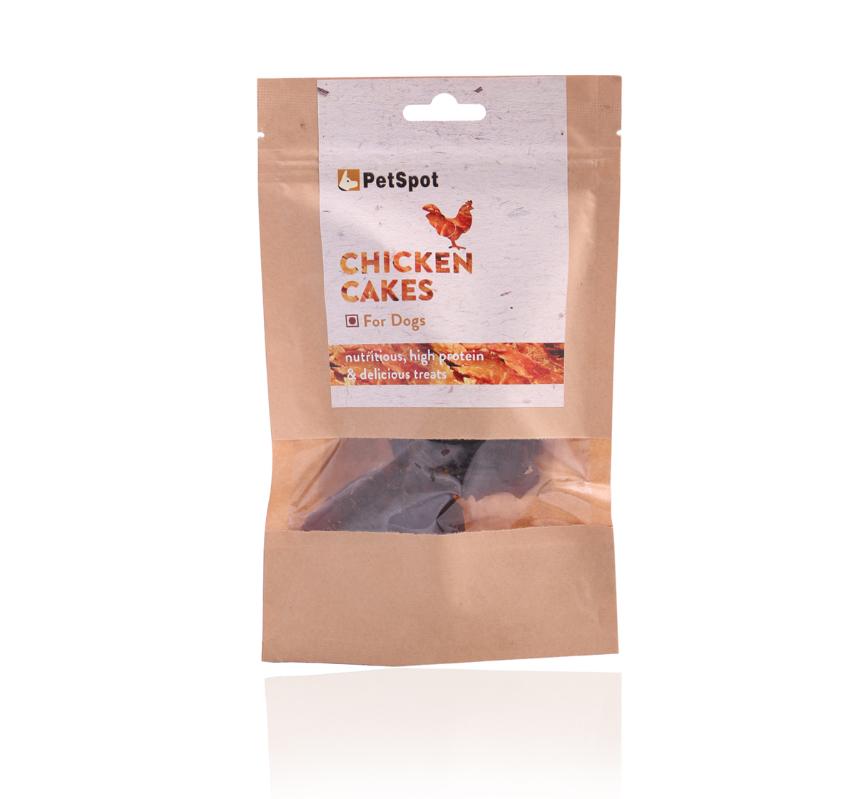 PetSpot Chicken Cakes - 70 gm