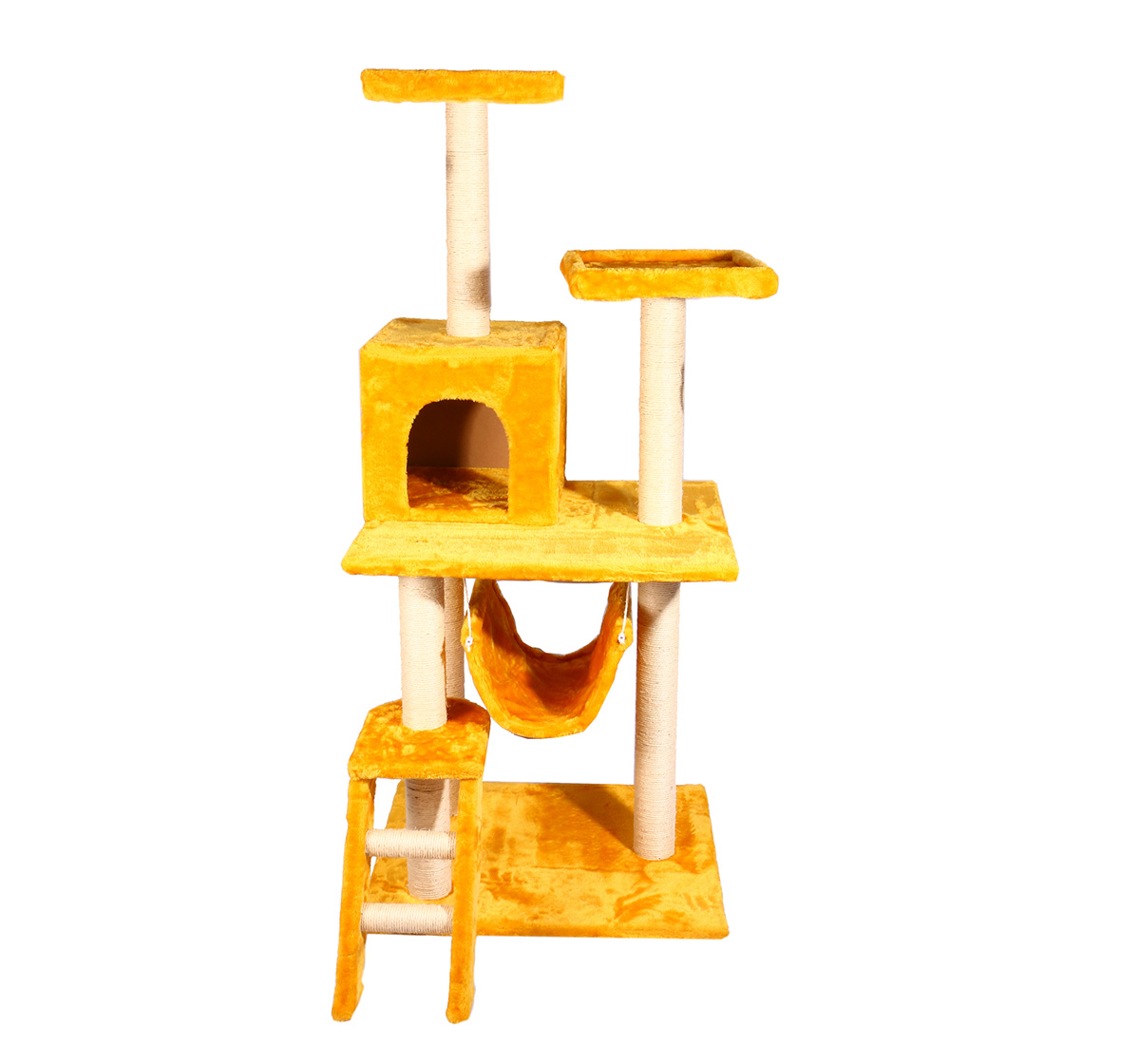 catspot premium dream world cat tree gym with cat condo  u0026 hammock  lxbxh  23 6     catspot premium dream world cat tree gym with cat condo  u0026 hammock      rh   dogspot in