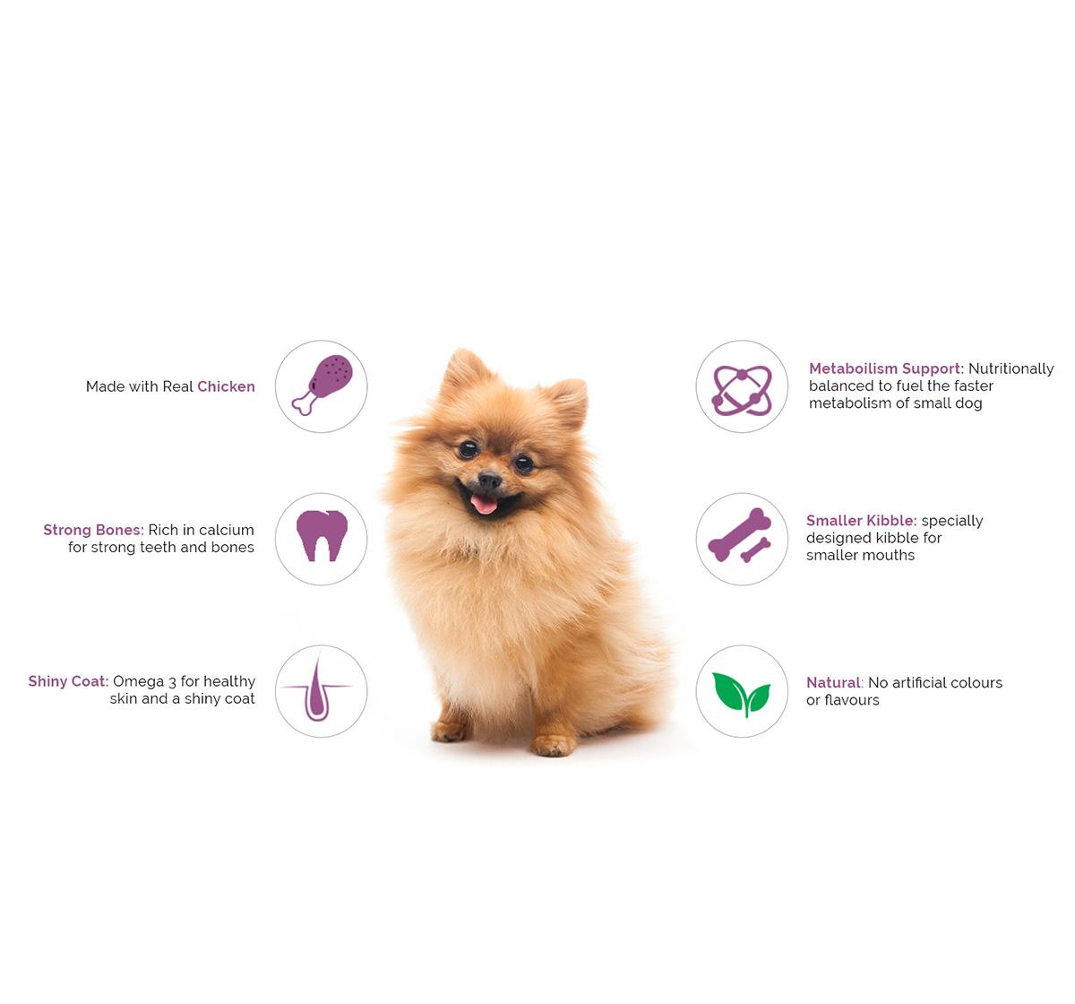 PURINA SUPERCOAT Small Breed Adult Dog Food - 3 kg