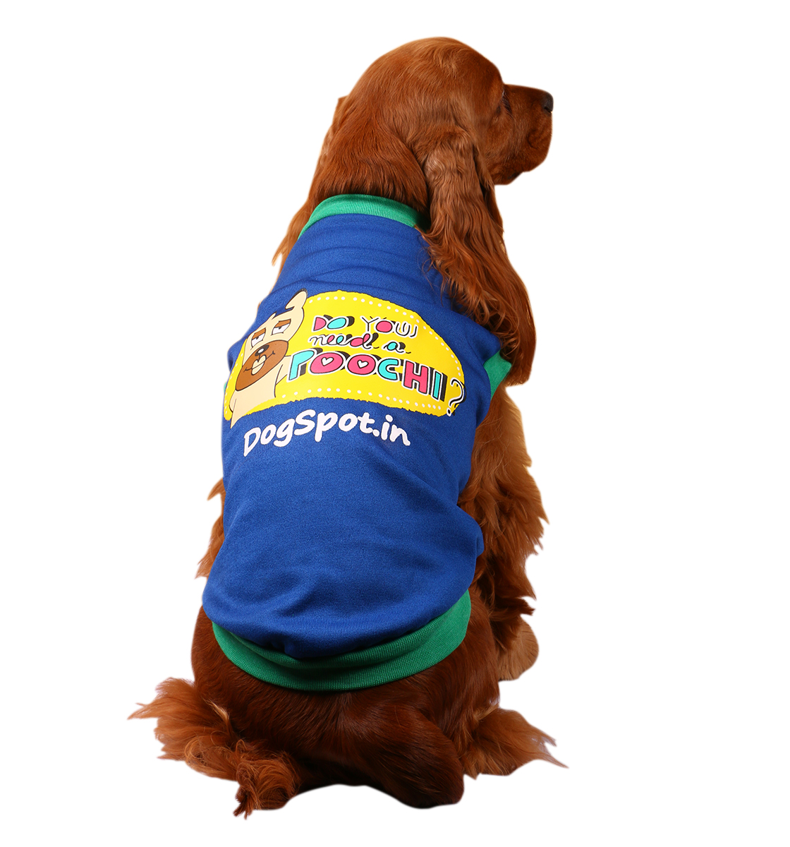 DogSpot Need A poochi Winter T-Shirt Size - 16