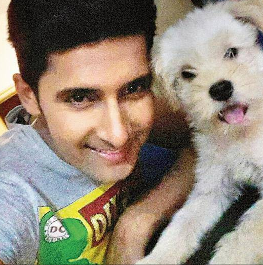 Ravi Dubey Dog