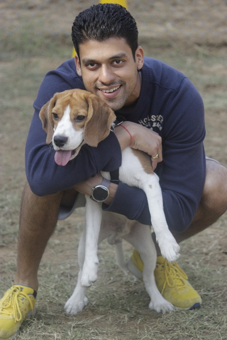 Vaibhav and Barney