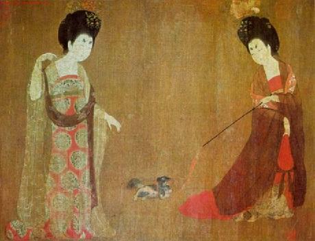 china and dog