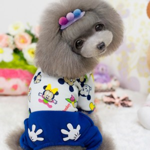 100-Cotton-Cute-Dog-Clothes-Mickey-Mouse-Pattern-Fleece-Small-Dog-Pajamas-Jumpsuit-Soft-Comfortable-Puppy