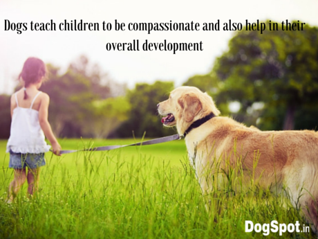 Dogs teach children to be compassionate