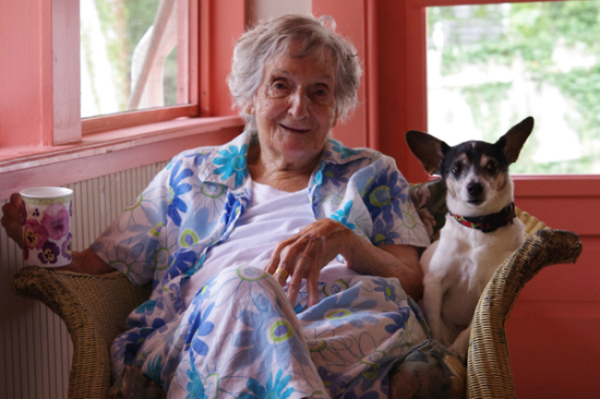 older-woman-with-jack-russell-terrier-600x399