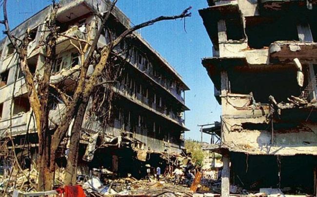 serial bombay blast in 1993