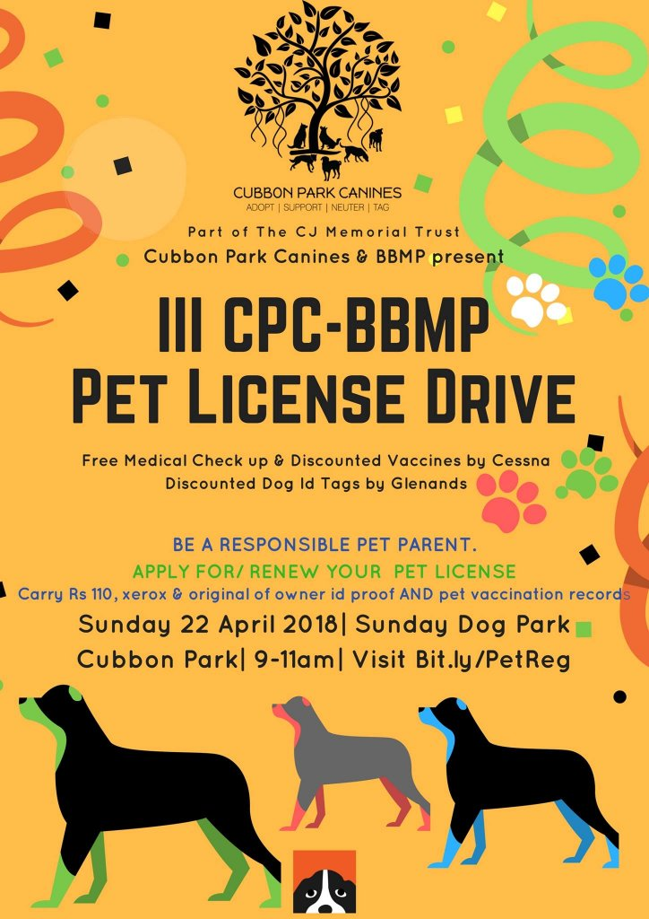 Here's Why You Should Get Your Pets Licensed This Sunday In Bangalore